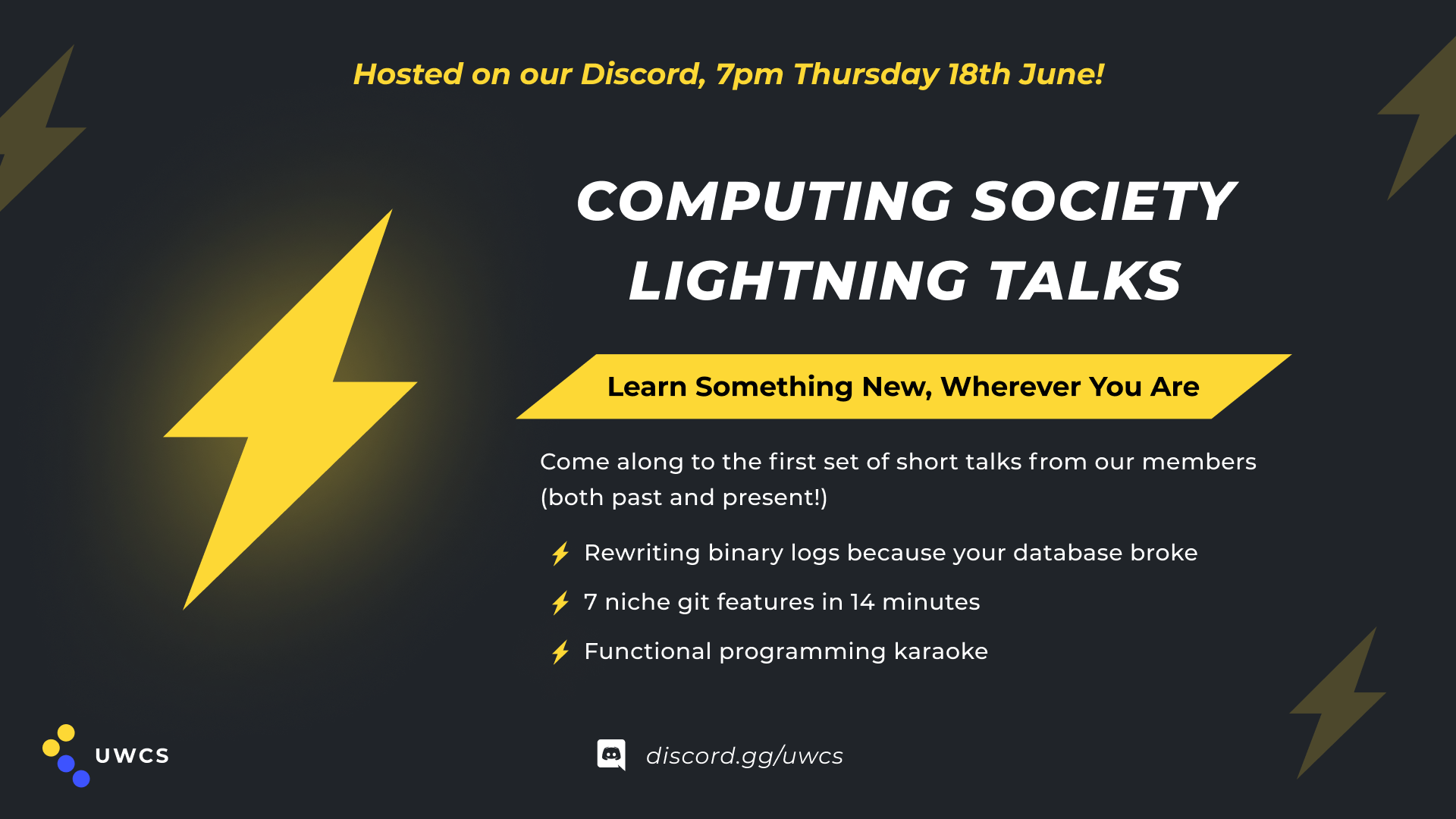 LightningTalks18th